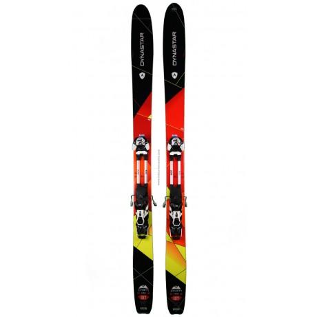 DYNASTAR CHAM 107 HM + PEAUX - skis d'occasion