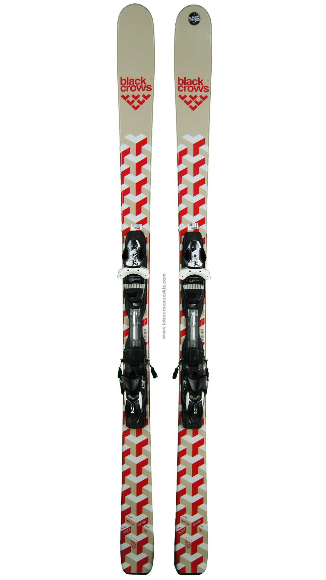 ski occasion black crows rocca birdie skis d 39 occasion laboursea. Black Bedroom Furniture Sets. Home Design Ideas