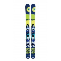 ROSSIGNOL TERRAIN BOY + KID-X4 BLUE/YELLOW