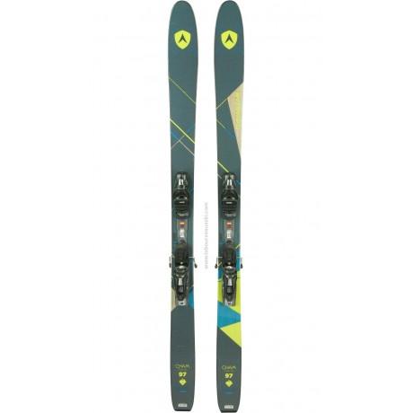 DYNASTAR CHAM 97 2.0 W - skis d'occasion