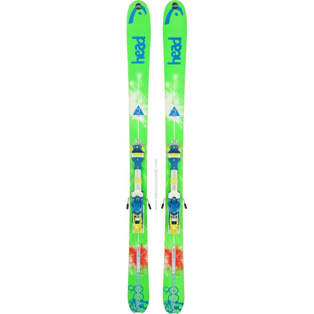 HEAD PROTOSTELLAR 98 - skis d'occasion