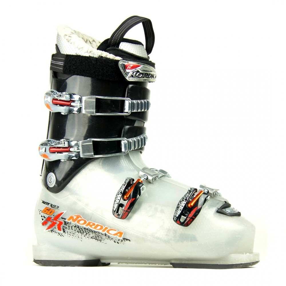 NORDICA HOT ROD 60 JUNIOR - chaussures de skis d'occasion