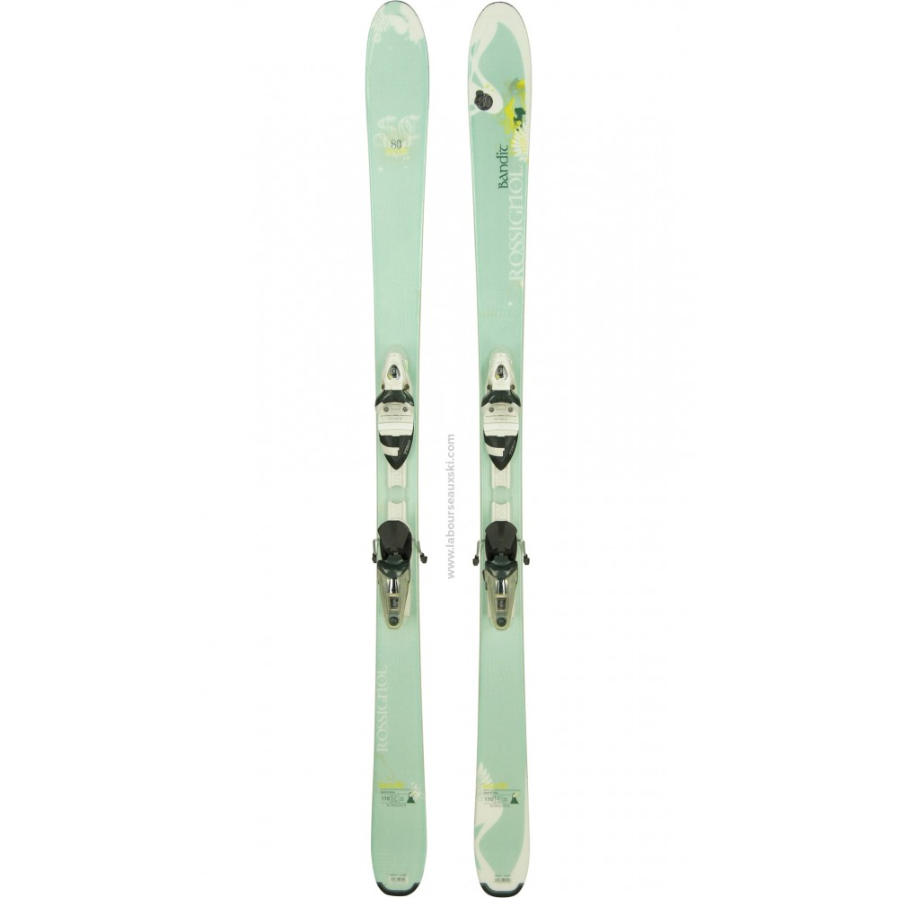 ROSSIGNOL Bandit SC 80 WOMEN - skis d'occasion