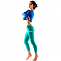 MONS ROYALE LEGGINGS GREEN
