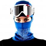 MONS ROYALE BALACLAVA BLUE