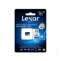 LEXAR High-Performance 633x microSDHC™UHS-I 16GB