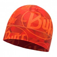 Buff MICROFIBER 1 LAYER HAT TIP LOGO ORANGE FLUOR