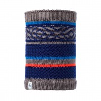 Buff KNITTED & POLAR NECKWARMER JUNIOR TIPSY BLUE INK