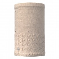 Buff KNITTED & POLAR NECKWARMER ELIE BEIGE