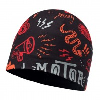 Buff MICROFIBER & POLAR HAT JUNIOR REBEL BLACK
