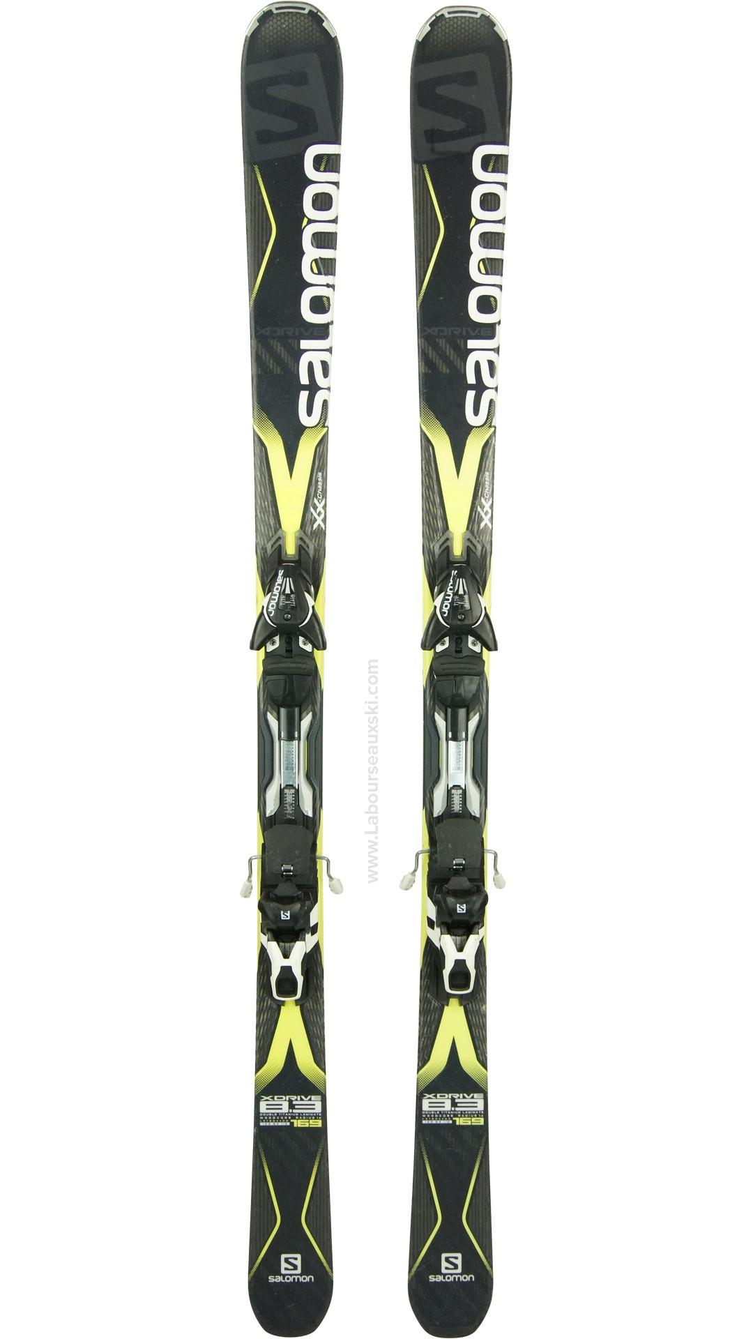 ski occasion salomon xdrive 8 3 skis d 39 occasion labourseauxskis. Black Bedroom Furniture Sets. Home Design Ideas