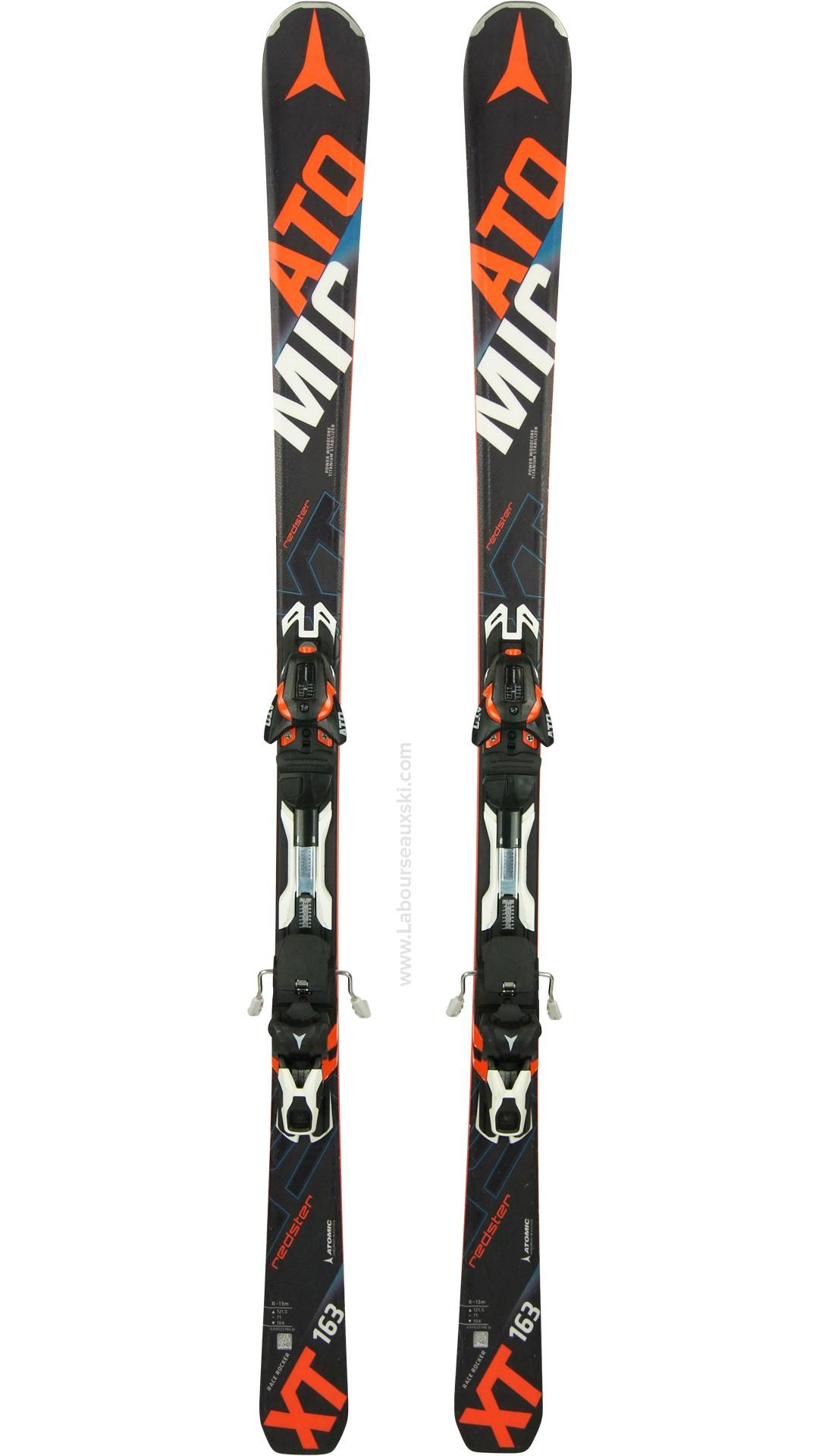 ski occasion atomic redster xt skis d 39 occasion. Black Bedroom Furniture Sets. Home Design Ideas