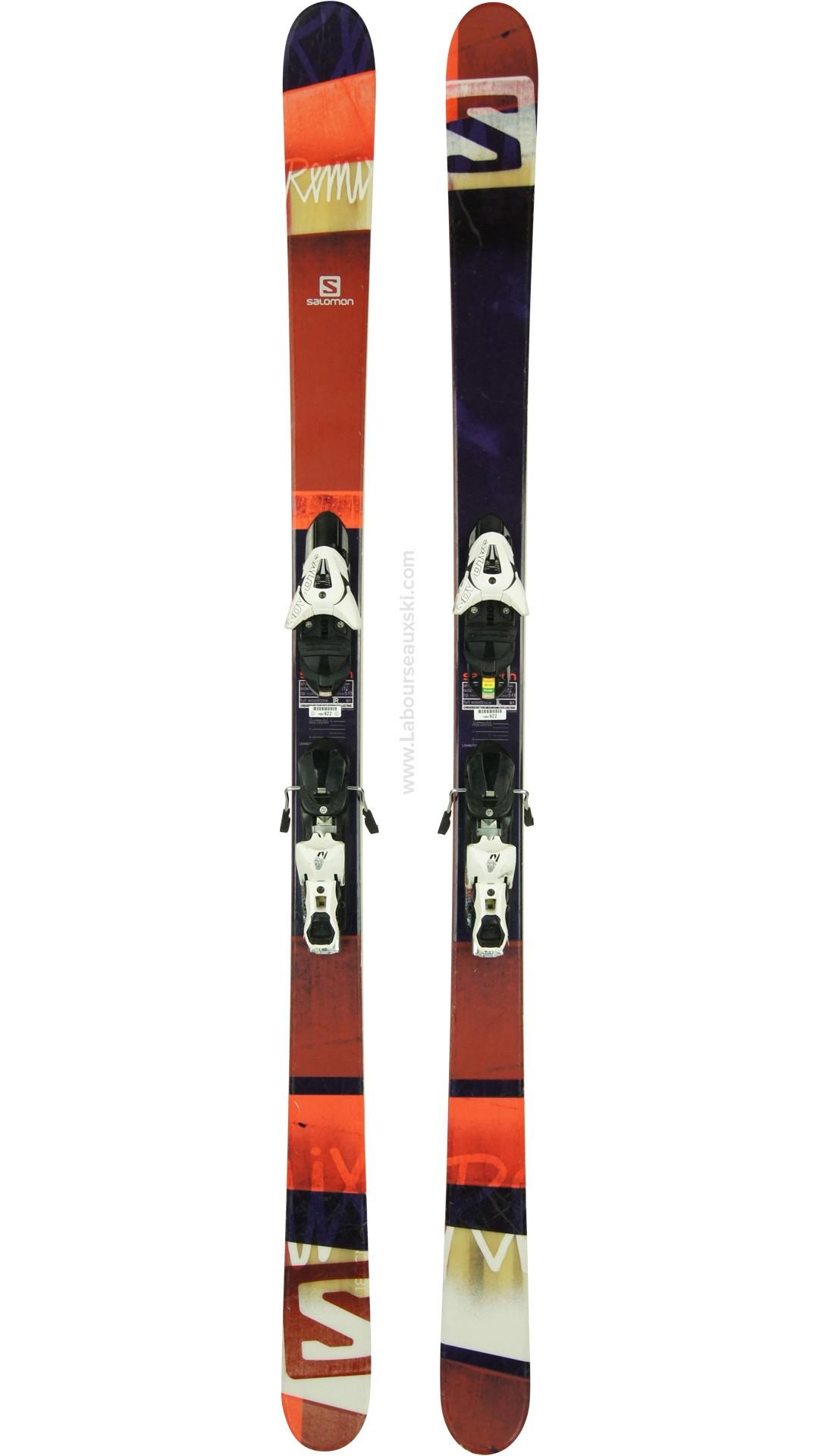ski occasion salomon remix skis d 39 occasion. Black Bedroom Furniture Sets. Home Design Ideas