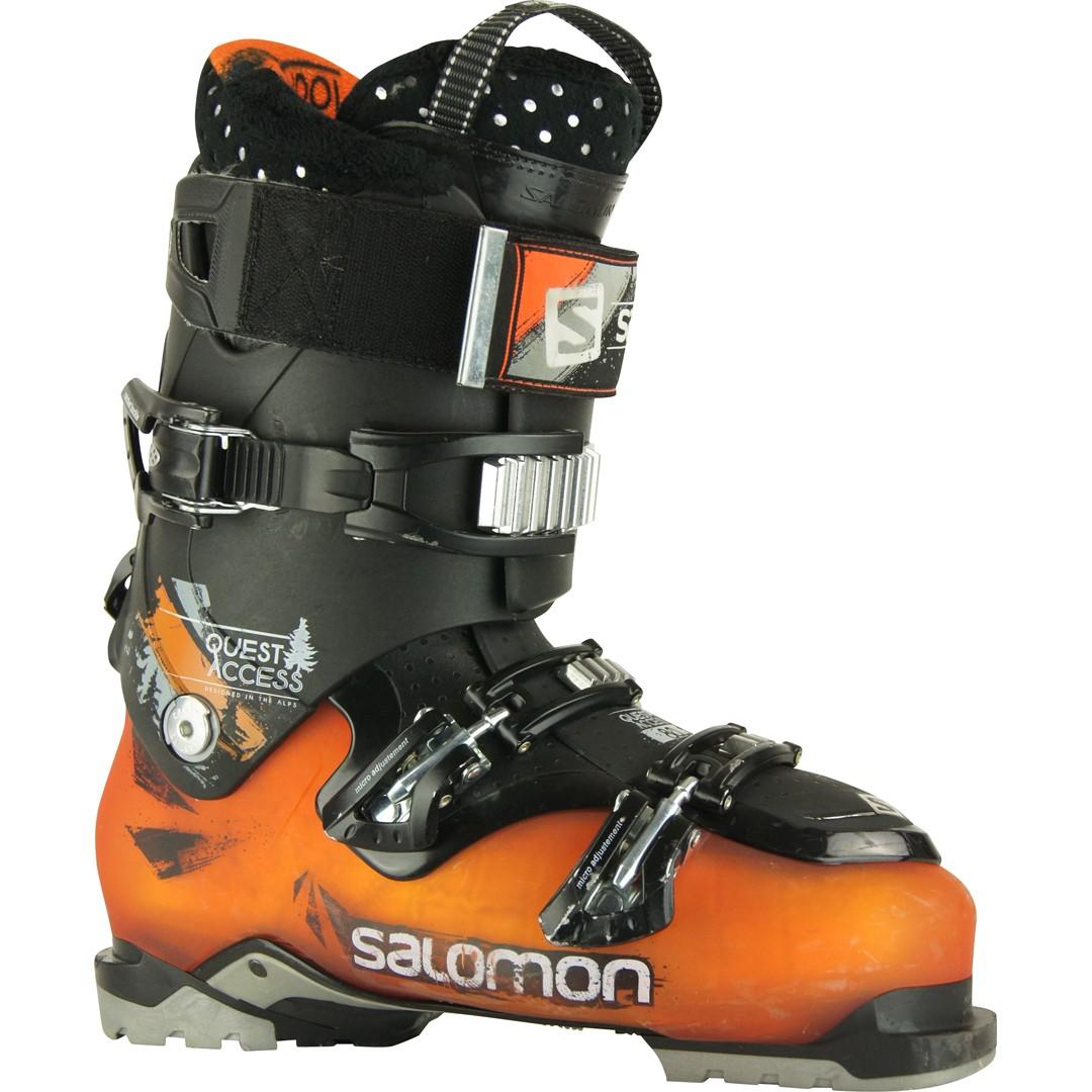 SALOMON QUEST ACCESS 80 chaussures de skis d'occasion Chaussures