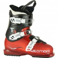SALOMON T3 RT RED - chaussures de skis d'occasion