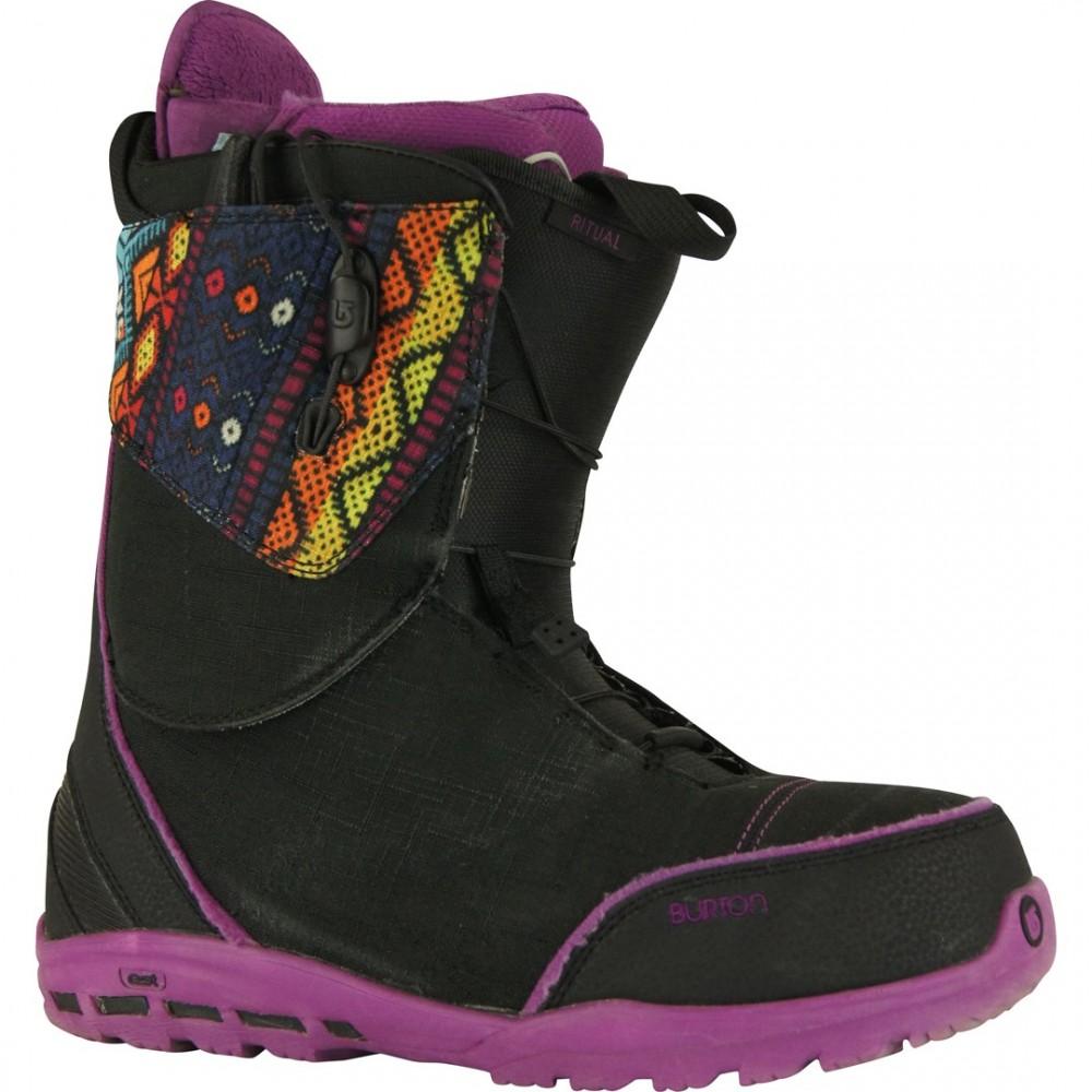 BURTON RITUAL BLACK - boots de snowboard d'occasion