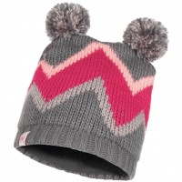 BUFF KNITTED & POLAR JR HAT ARILD GREY