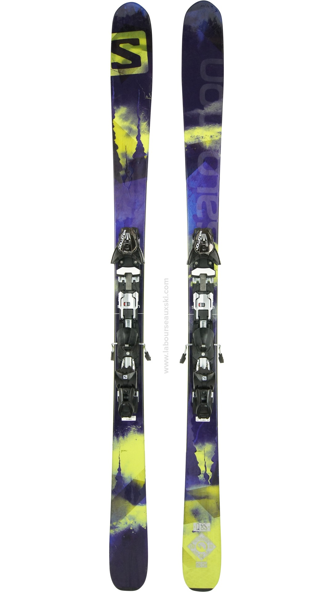 Ski Occasion SALOMON Q 85 skis d'occasion