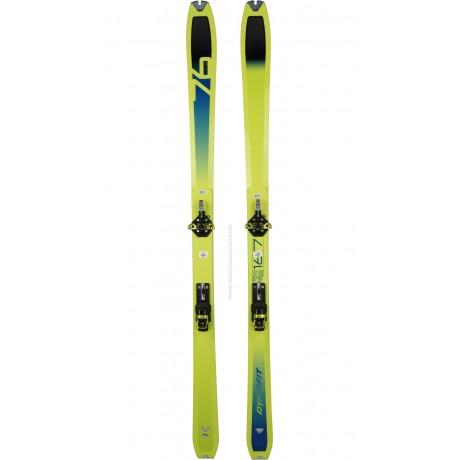 DYNAFIT SPEED 76+SPEEDFIT+PEAUX - skis d'occasion Dynafit - 3