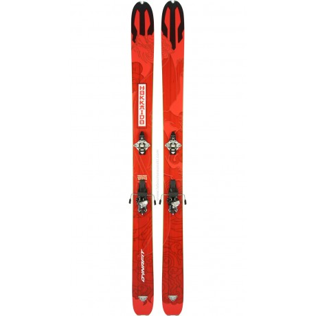 DYNAFIT HOKKAIDO + RADICALST + PEAUX - skis d'occasion Dynafit - 3