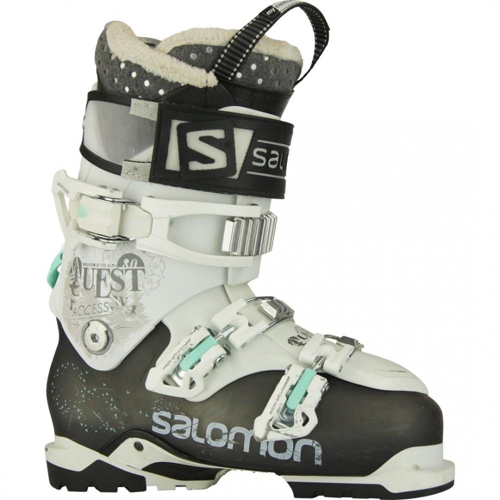 SALOMON QUEST W chaussures de skis d'occasion La Bourse Aux Skis