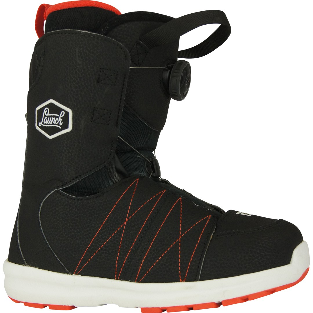 salomon launch boa jr boots de snowboard occasion la bourse aux skis
