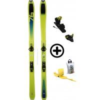 DYNAFIT SPEED 76+SPEEDFIT+PEAUX - skis d'occasion