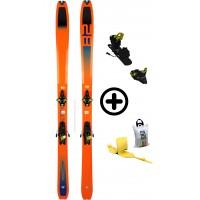 DYNAFIT TOUR 82+RADICALST+PEAUX - skis d'occasion