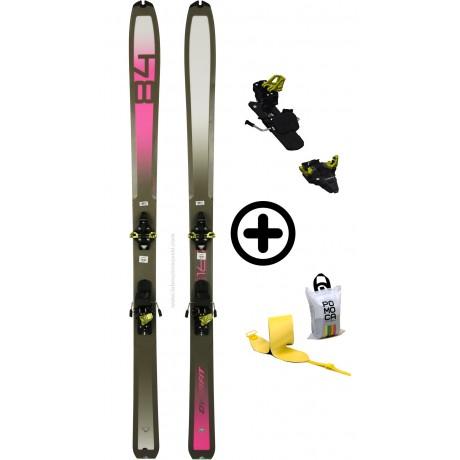 DYNAFIT SPEEDFIT 84W+RADICALST+PEAUX - skis d'occasion Dynafit - 2