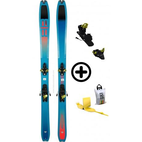 DYNAFIT TOUR 88W+RADICALST+PEAUX - skis d'occasion Dynafit - 2