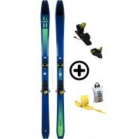 DYNAFIT TOUR 88+RADICALST+PEAUX - skis d'occasion