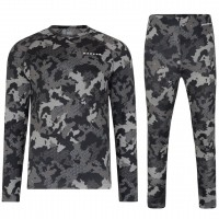 DARE 2B DIVISION BASE LAYER SET EBONY GREY CAMO PRINT