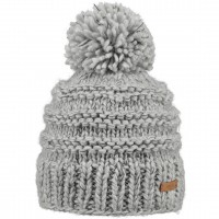BARTS JASMIN BEANIE HEATHER GREY