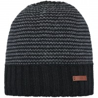 BARTS DAVID BEANIE BLACK