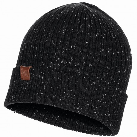 BUFF KNITTED HAT KORT BLACK