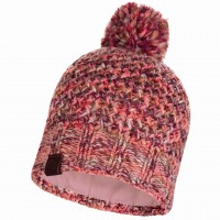 BUFF KNITTED & POLAR HAT MARGO FLAMINGO PINK