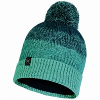 BUFF KNITTED & POLAR HAT MASHA TURQUOISE