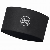 BUFF COOLNET UV+ HEADBAND SOLID BLACK