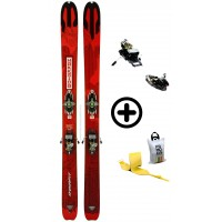 DYNAFIT HOKKAIDO+RADICALST2+PEAUX - skis d'occasion