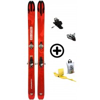 DYNAFIT HOKKAIDO+RADICALST+PEAUX - skis d'occasion