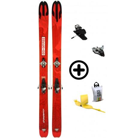 DYNAFIT HOKKAIDO + RADICALST + PEAUX - skis d'occasion Dynafit - 2