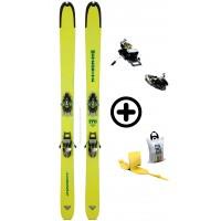 DYNAFIT MÉTÉORITE FIX+PEAUX - skis d'occasion