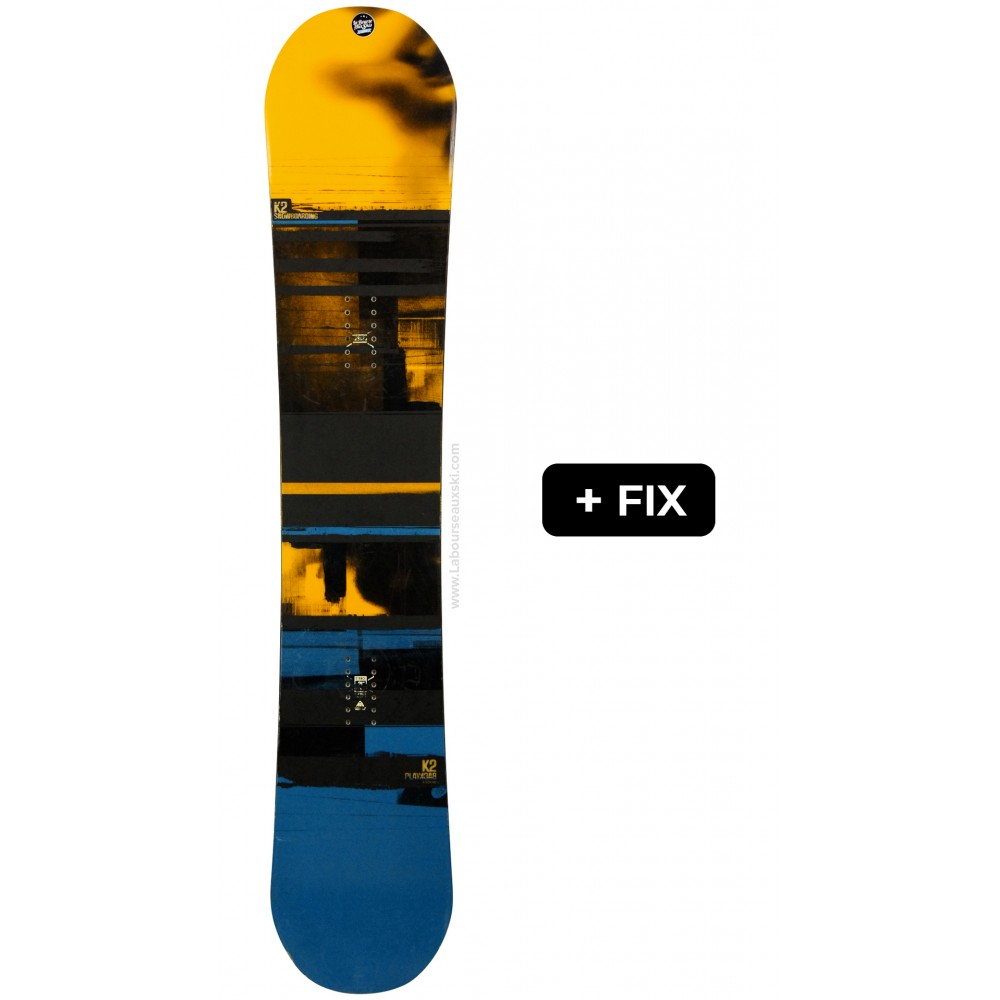 K2 SNOWBOARDS PLAYBACK