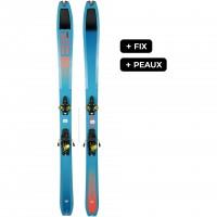DYNAFIT TOUR 88W+RADICALST+PEAUX - skis d'occasion