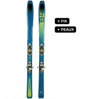 DYNAFIT SPEED 84 W FIX+PEAUX - skis d'occasion