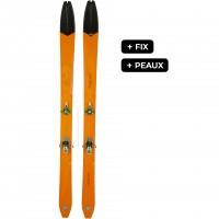 DYNAFIT DHAULAGIRI FIX+PEAUX SL - skis d'occasion