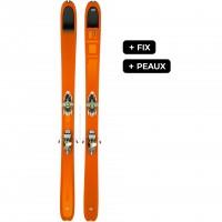 DYNAFIT BEAST 108 FIX+PEAUX - skis d'occasion