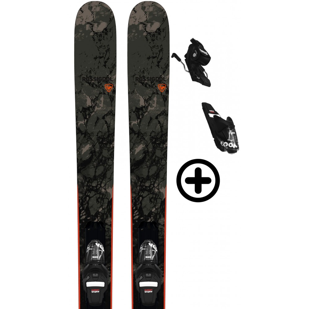 ROSSIGNOL BLACKOPS SMASHER + FIX Rossignol - 2