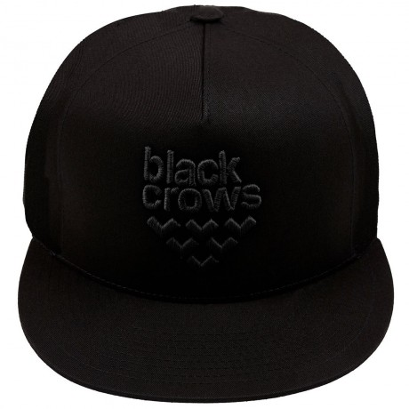 BLACK CROWS FULL LOGO TRUCKER CAP BLACK 2020 Black crows - 2