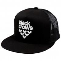 BLACK CROWS FULL LOGO TRUCKER CAP BLACK/BLACK/WHITE 2019 Black crows - 1